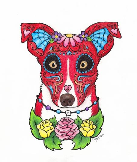 Sugar Skull Commission - Maggie