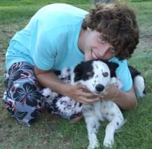 Blitz's adoption day - 9/6/2008