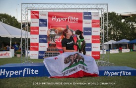 2019 Skyhoundz Open World Champion